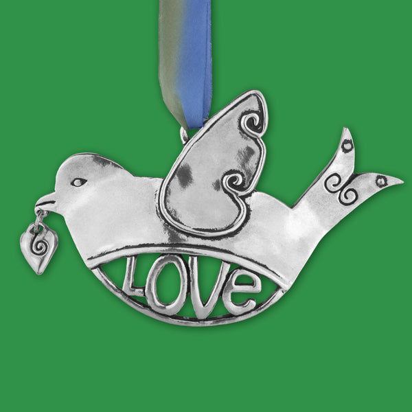 Basic Spirit: Birds in Flight Ornaments: Love