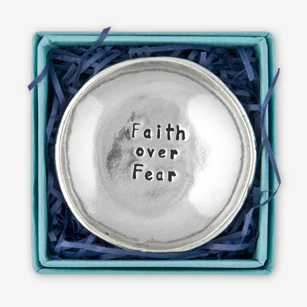 Basic Spirit: Charm Bowls: Faith Over Fear