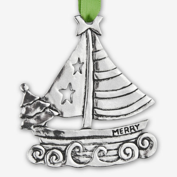 Basic Spirit: Holiday Ornaments: Sailboat