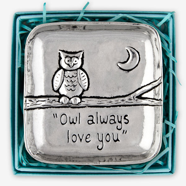 Basic Spirit: Large Charm Bowls: Owl Love