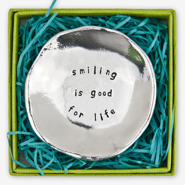 Basic Spirit: Large Charm Bowls: Smiling is Good