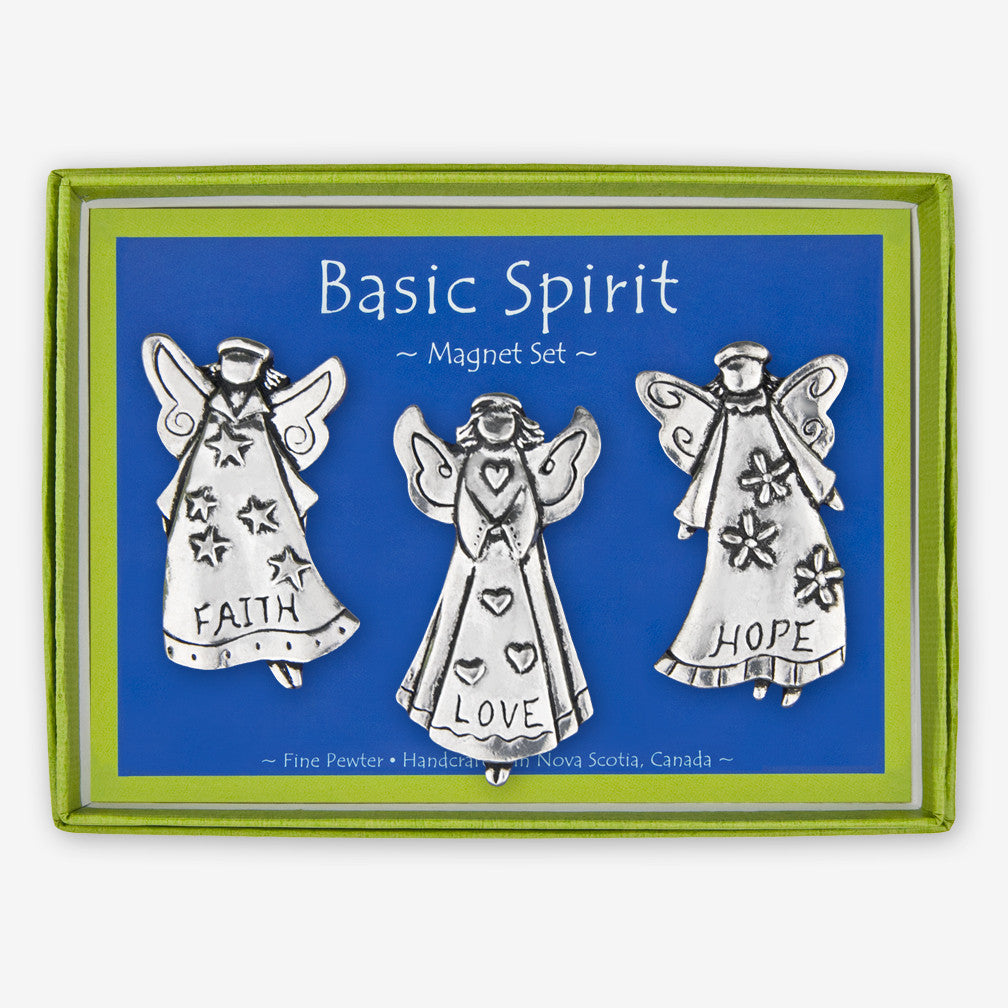 Basic Spirit: Magnet Sets: Angels: Faith, Love, Hope