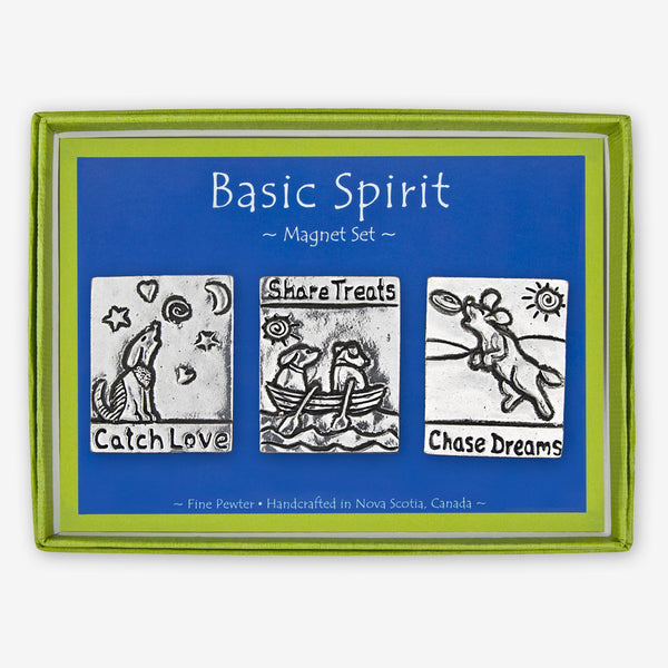 Basic Spirit: Magnet Sets: Dogs Chase Dreams