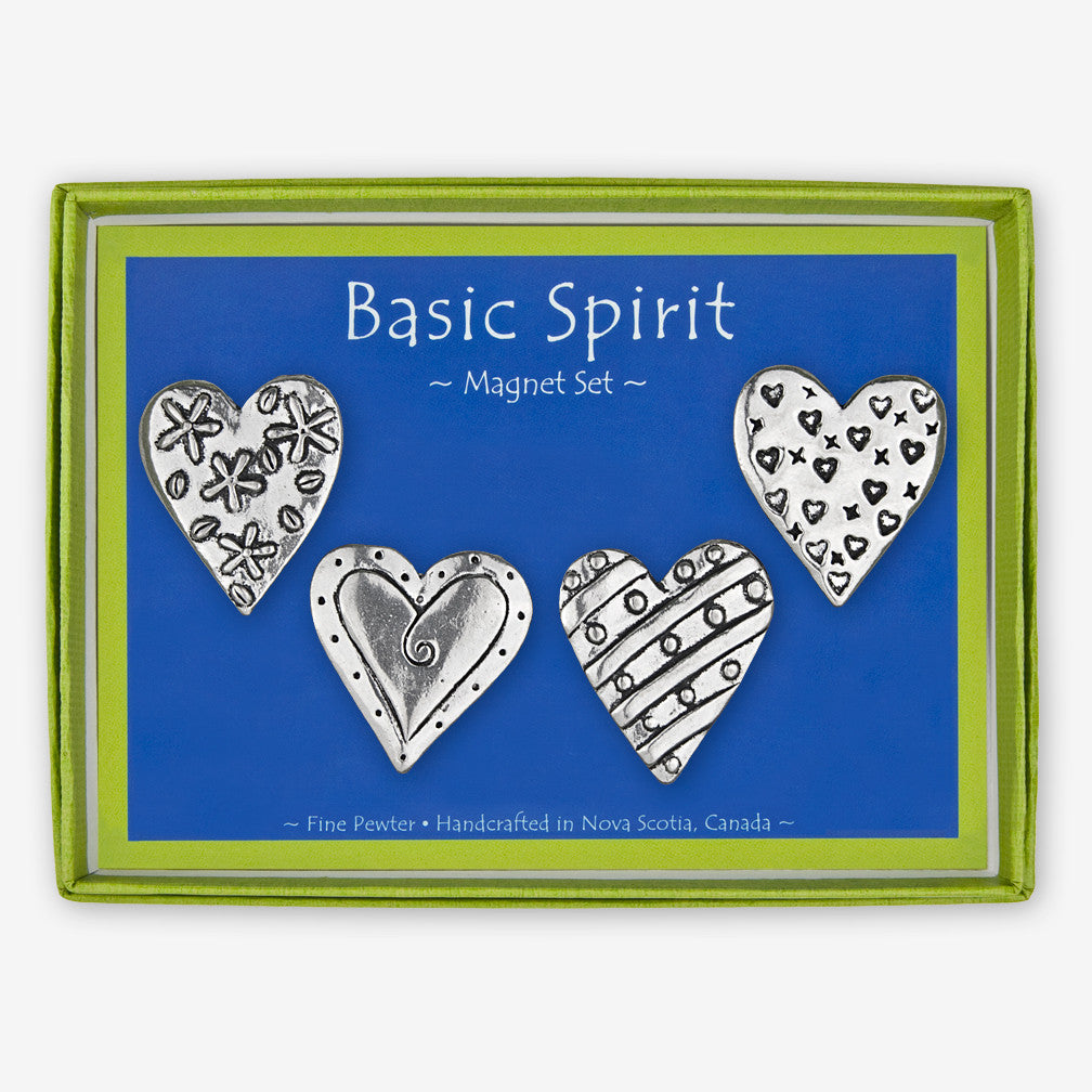 Basic Spirit: Magnet Sets: Four Hearts