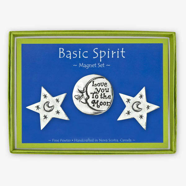 Basic Spirit: Magnet Sets: Love You To The Moon