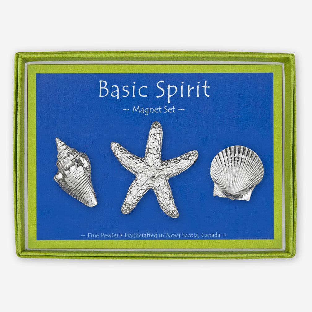Basic Spirit: Magnet Sets: Shells