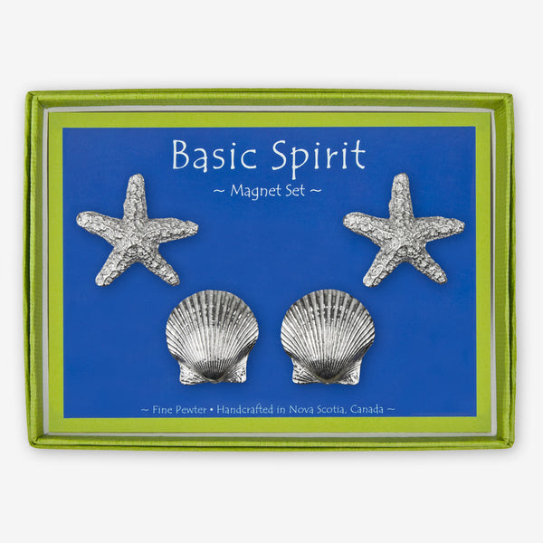 Basic Spirit: Magnet Sets: Starfish and Shells
