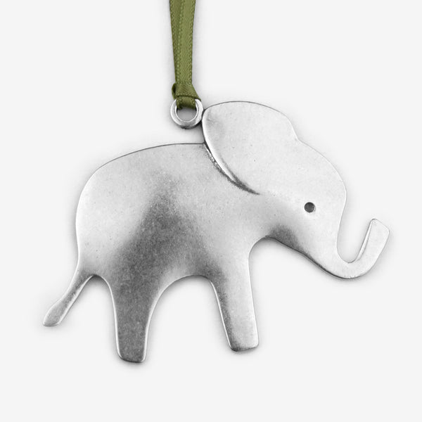 Beehive Handmade: Holiday Ornament: Elephant
