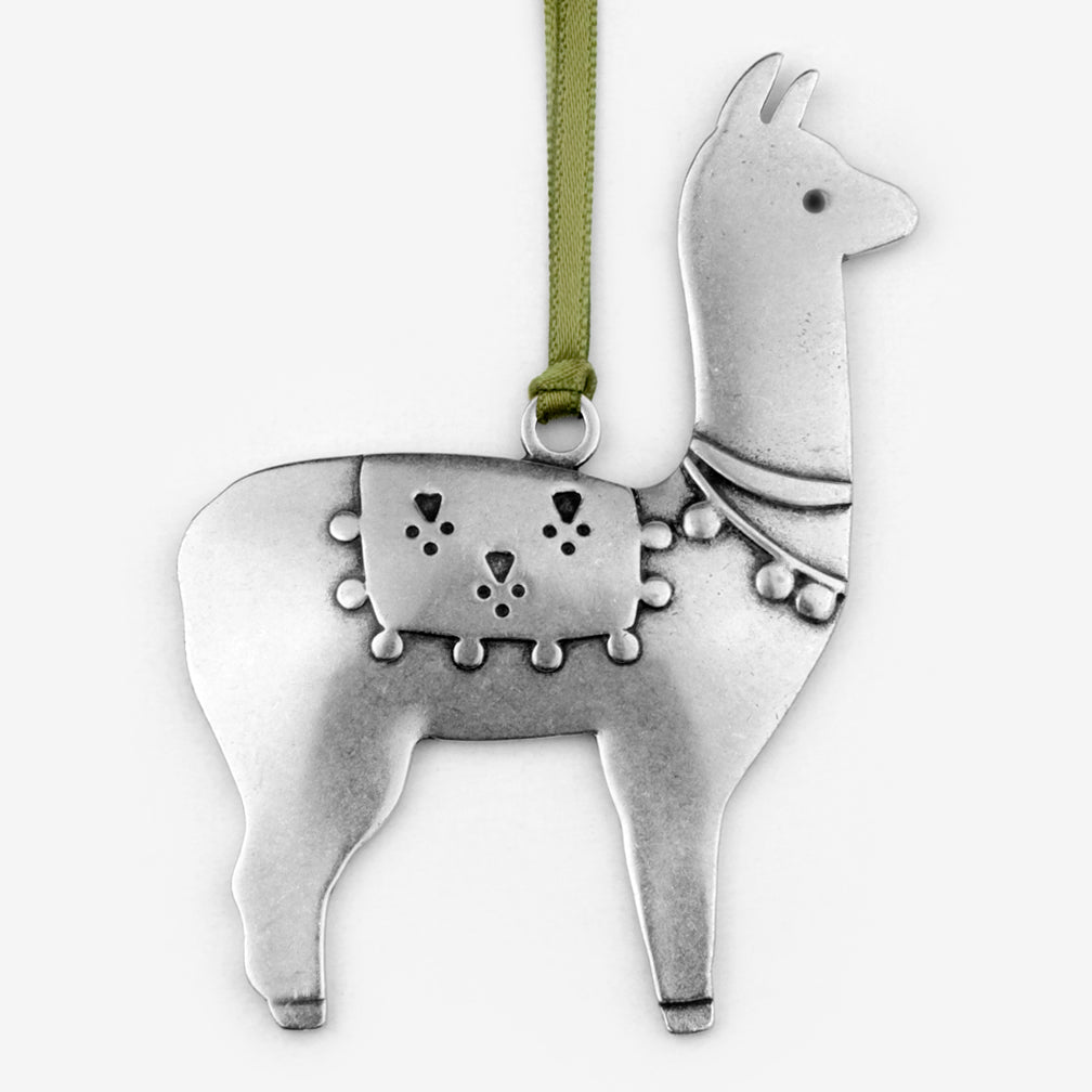 Beehive Handmade: Holiday Ornament: Llama