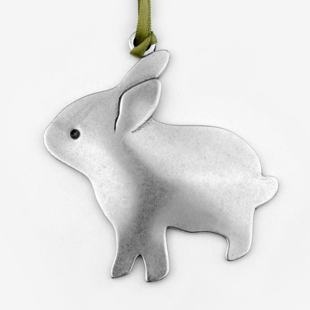 Beehive Handmade: Holiday Ornament: New Bunny