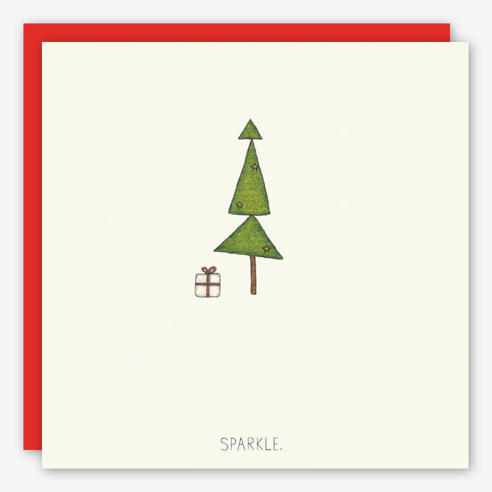 Beth Mueller: Holiday Card: Sparkle