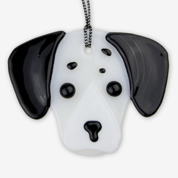 Charlotte Arvelle Glass: I'm A Pup Ornaments: Sparky