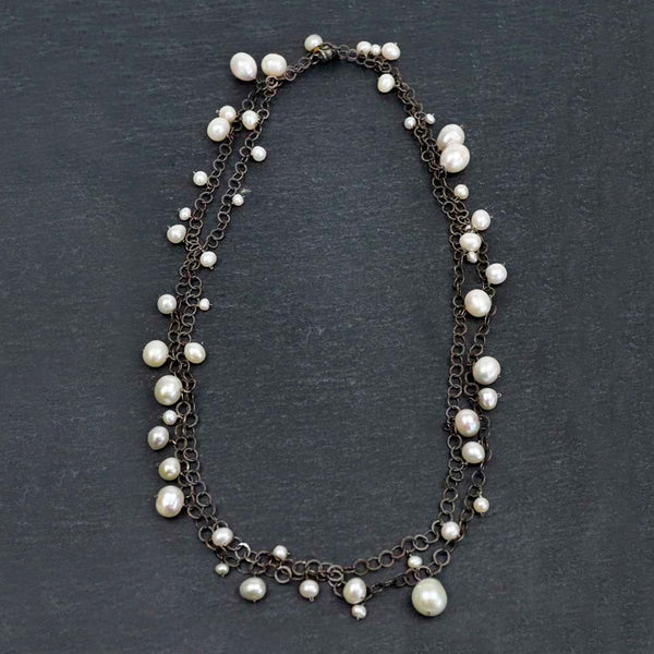 Calliope Jewelry: Necklace: Freshwater Pearl Chain