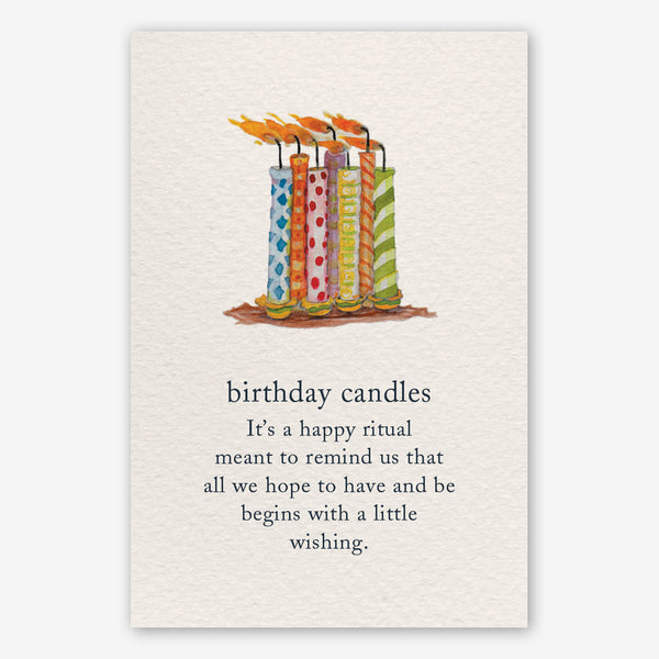 Cardthartic Birthday Card: Birthday Candles