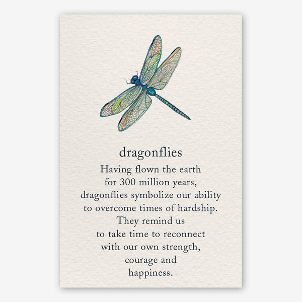 Cardthartic Encouragement Card: Dragonfly
