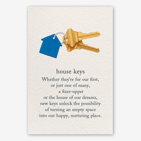 Cardthartic New Home Card: House Keys