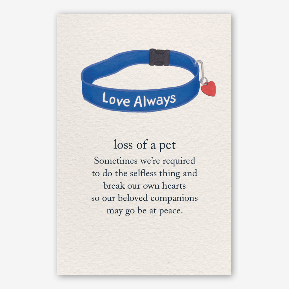 Cardthartic Condolence Card: Loss of a PetCardthartic Condolence Card: Loss of a Pet
