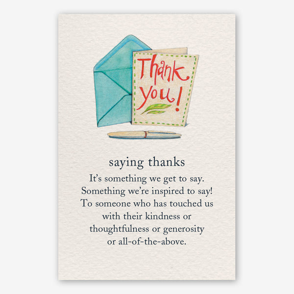 Cardthartic Thank You Card: Saying Thanks