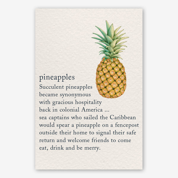Cardthartic Thank You Card: Pineapples