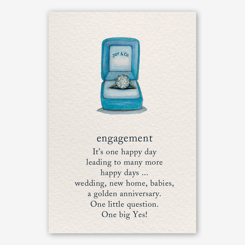 Cardthartic Engagement Card: Engagement