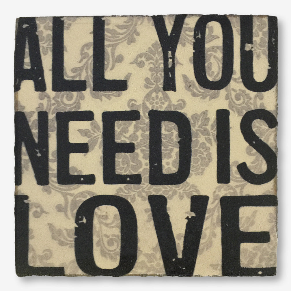 Cedar Mountain Studios: Lost + Found Art Block: All You Need Is Love