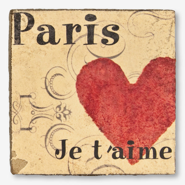 Cedar Mountain Studios: Lost + Found Art Block: Paris Je T'aime