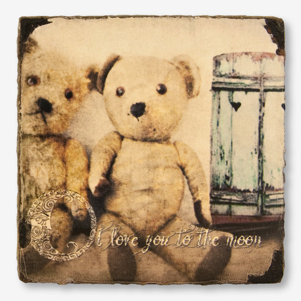 Cedar Mountain Studios: Lost + Found Art Block: Teddy Bears