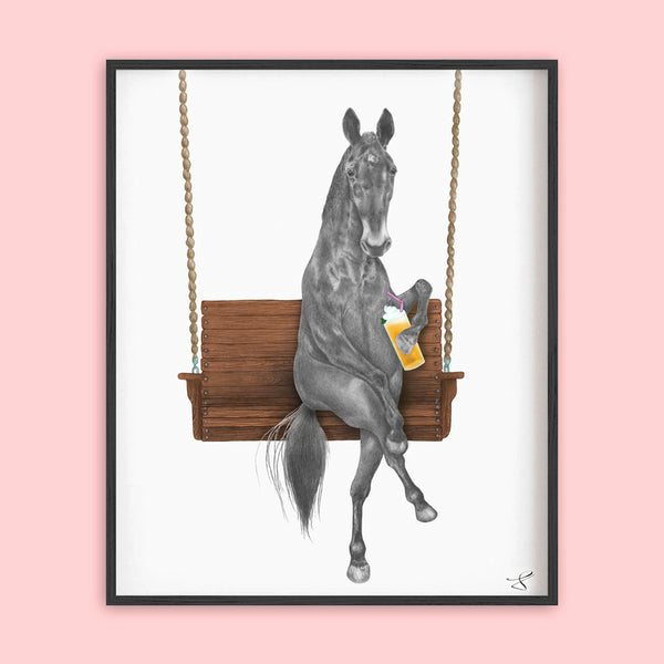 Central & Gus: Art Print: Miami Clementine