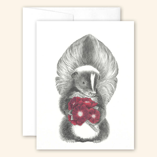 Central & Gus: Greeting Card: Scruffles Wigglebottom