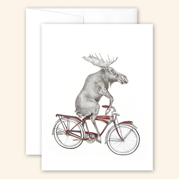 Central & Gus: Greeting Card: Murray Maynooth Moose