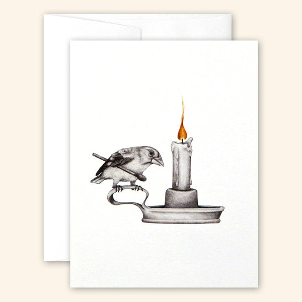 Central & Gus: Greeting Card: Thomasin Healing