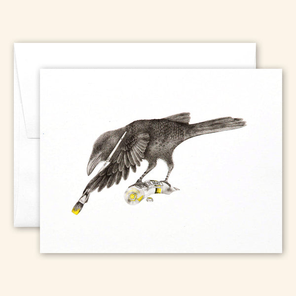 Central & Gus: Greeting Card: Aurora Belle
