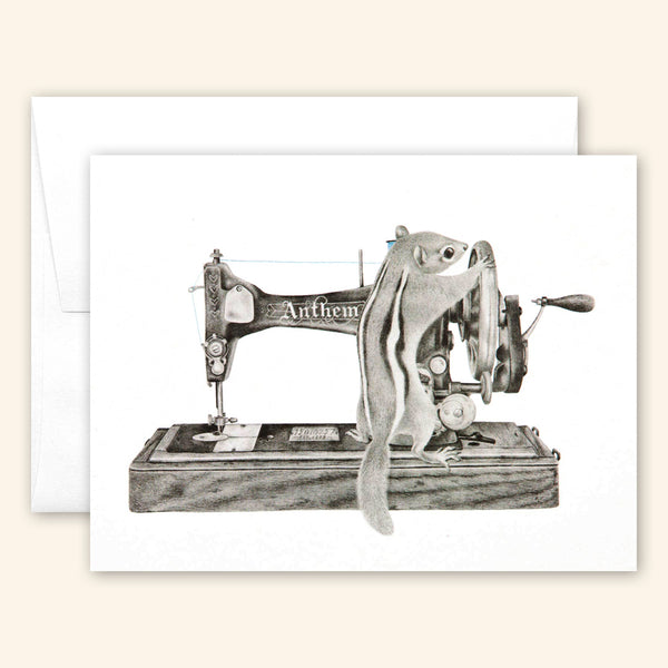 Central & Gus: Greeting Card: Charlotte Livingston