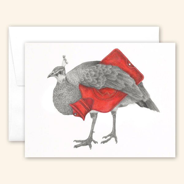 Central & Gus: Greeting Card: Abby Lirida
