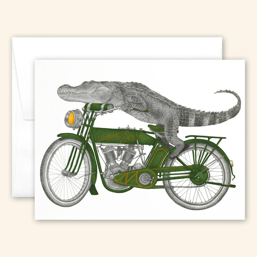 Central & Gus: Greeting Card: Charlie Bonaventure