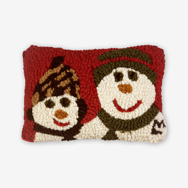 Chandler 4 Corners: Hand-Hooked Wool Pillow: 12x8 Inch A Day With Dad