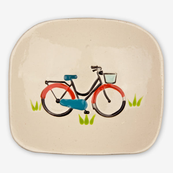 Cheryl Stevens Studio: Dishette: Bicycle
