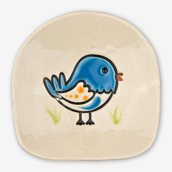 Cheryl Stevens Studio: Dishette: Blue Bird
