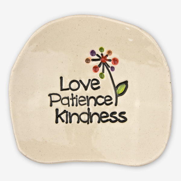 Cheryl Stevens Studio: Dishette: Love Patience Kindness
