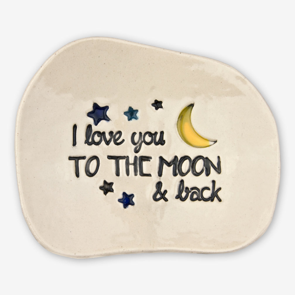 Cheryl Stevens Studio: Dishette: Love You To The Moon
