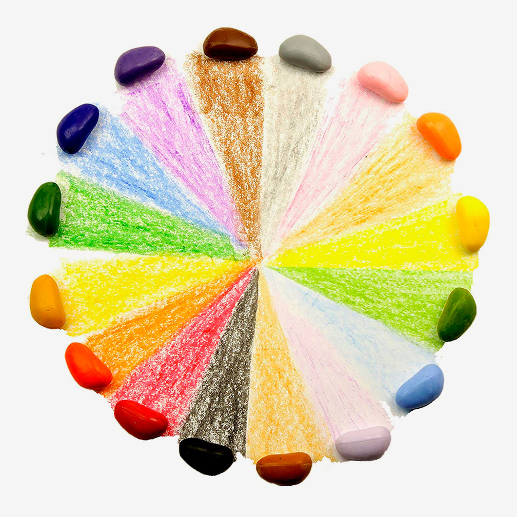 Crayon Rocks: 16 Colors Just Rocks in a Box