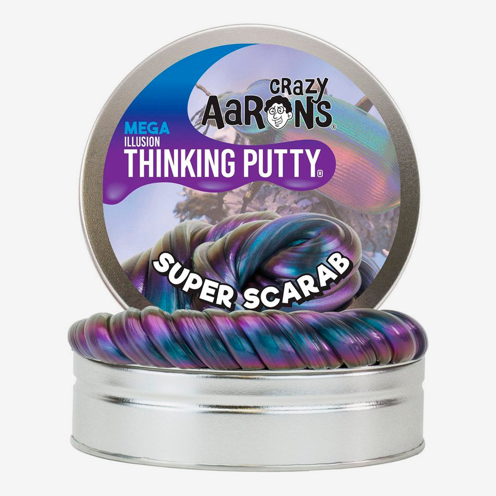 Crazy Aaron's: Mega Thinking Putty: Super Scarab