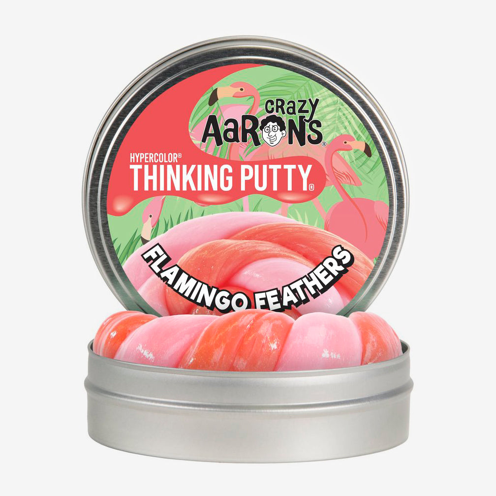Crazy Aaron's: Thinking Putty: Flamingo Feathers