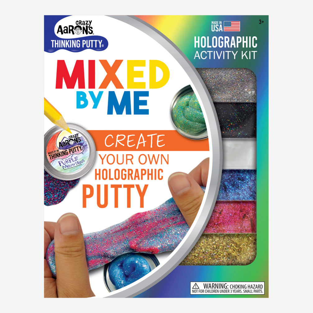 Crazy Aaron's: Holographic Mixed by Me Thinking Putty Kit