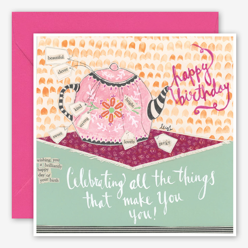 Curly Girl Design: Birthday Card: What Makes You You!