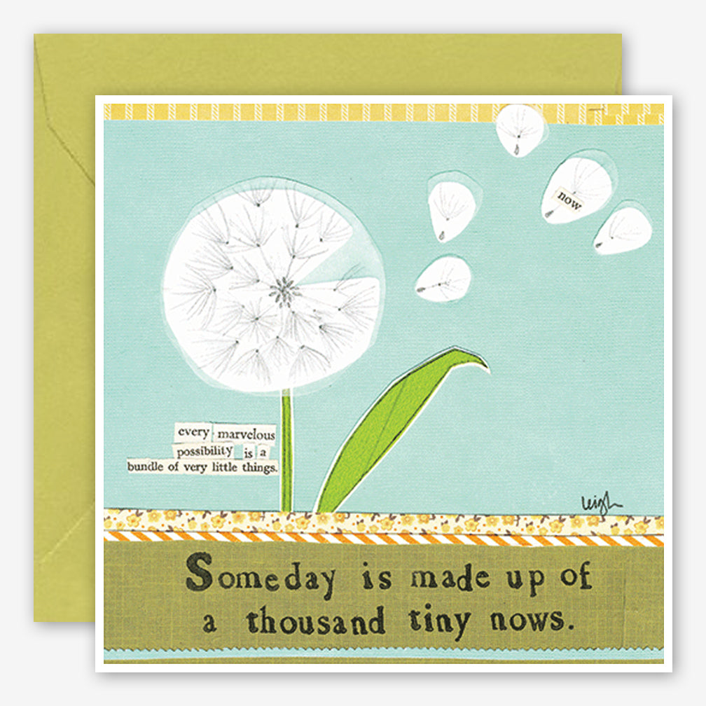 Curly Girl Design: Encouragement Card: Tiny Nows