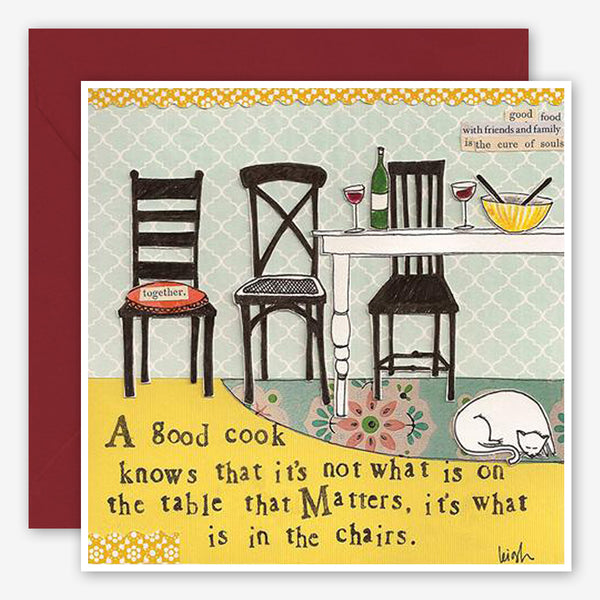 Curly Girl Design: Friendship Card: In The Chairs