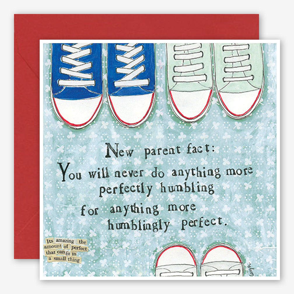 Curly Girl Design: New Parent Card: Humblingly