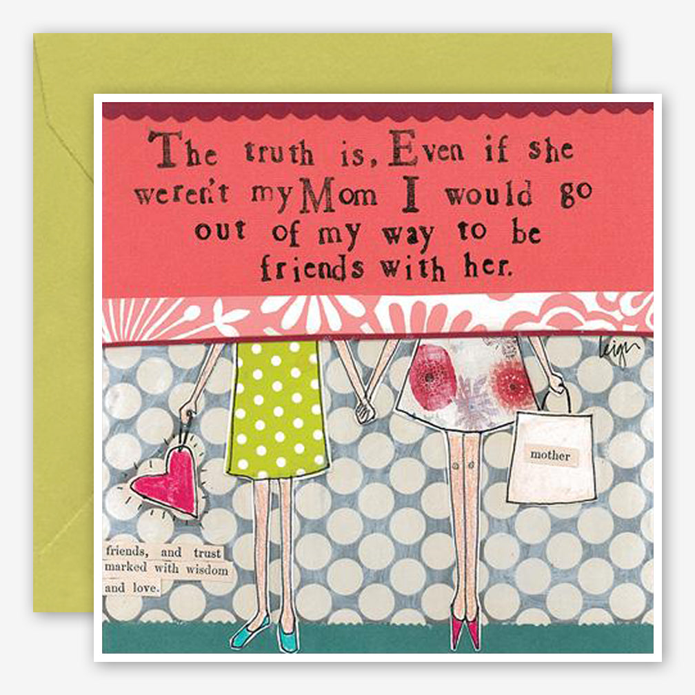 Curly Girl Design: Friendship Card: Mom