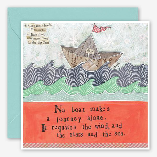 Curly Girl Design: Encouragement Card: Stars & the Sea